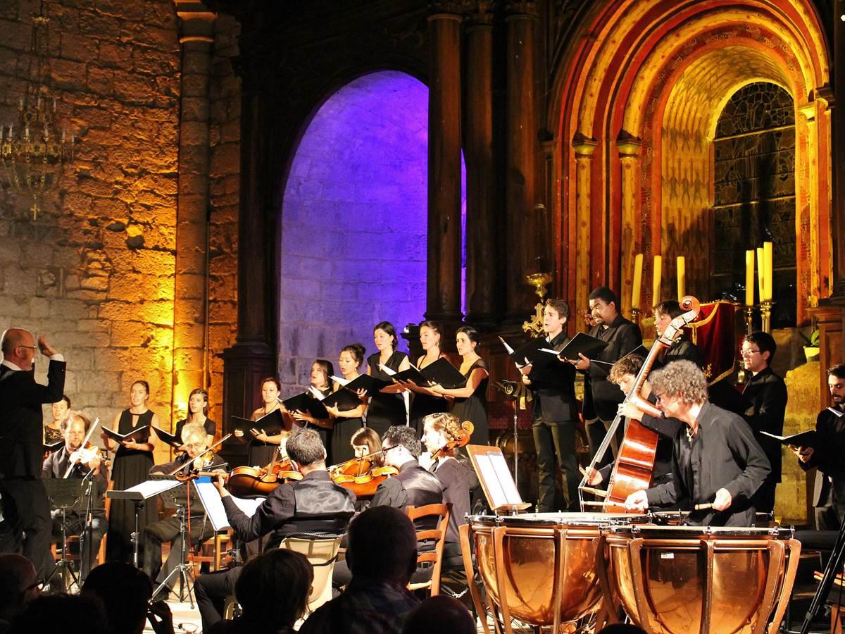 Concert étonnant -  Festival de Rocamadour