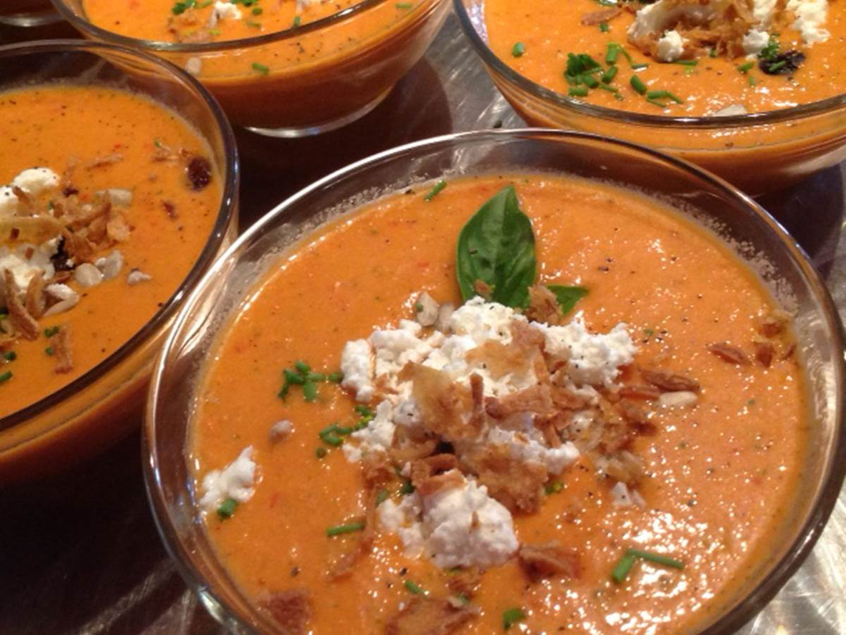 Gazpacho tomates pastèque