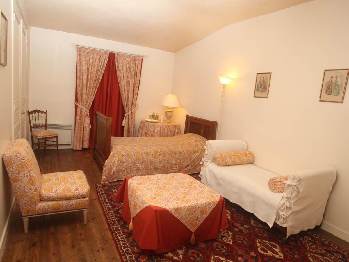 Petite chambre Rabelais