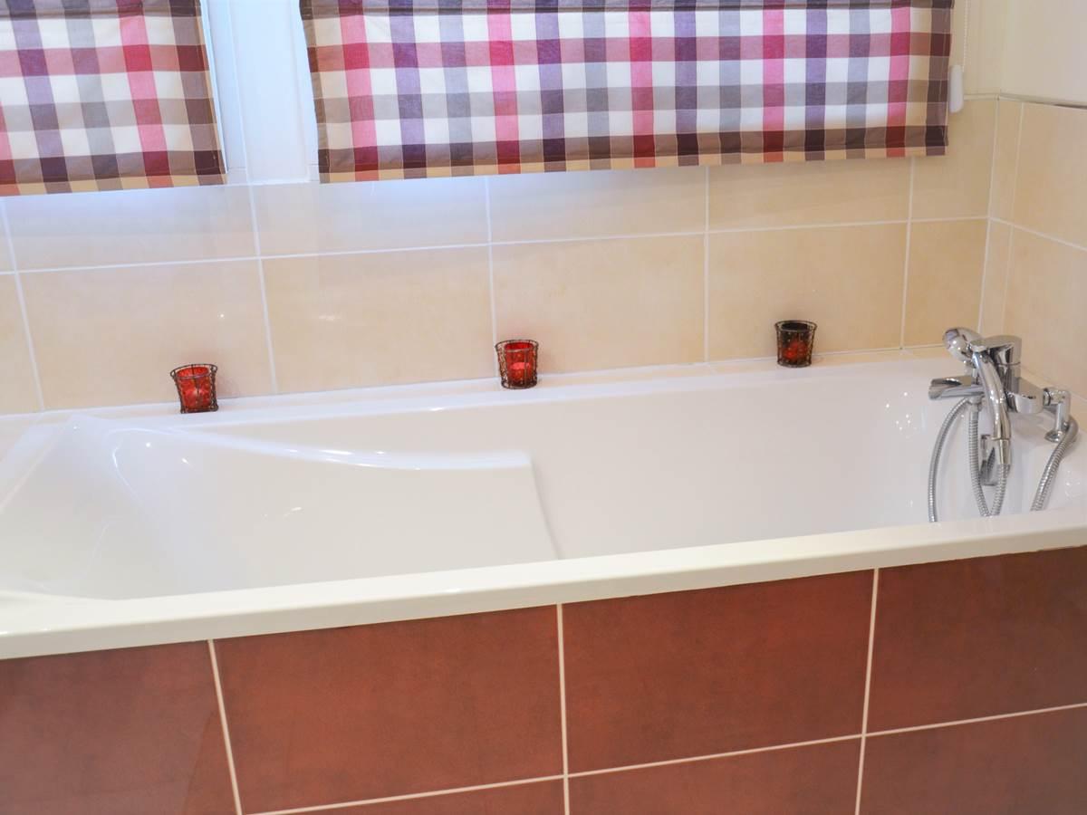 salle de bains double vasques le touquet baignoire douche
