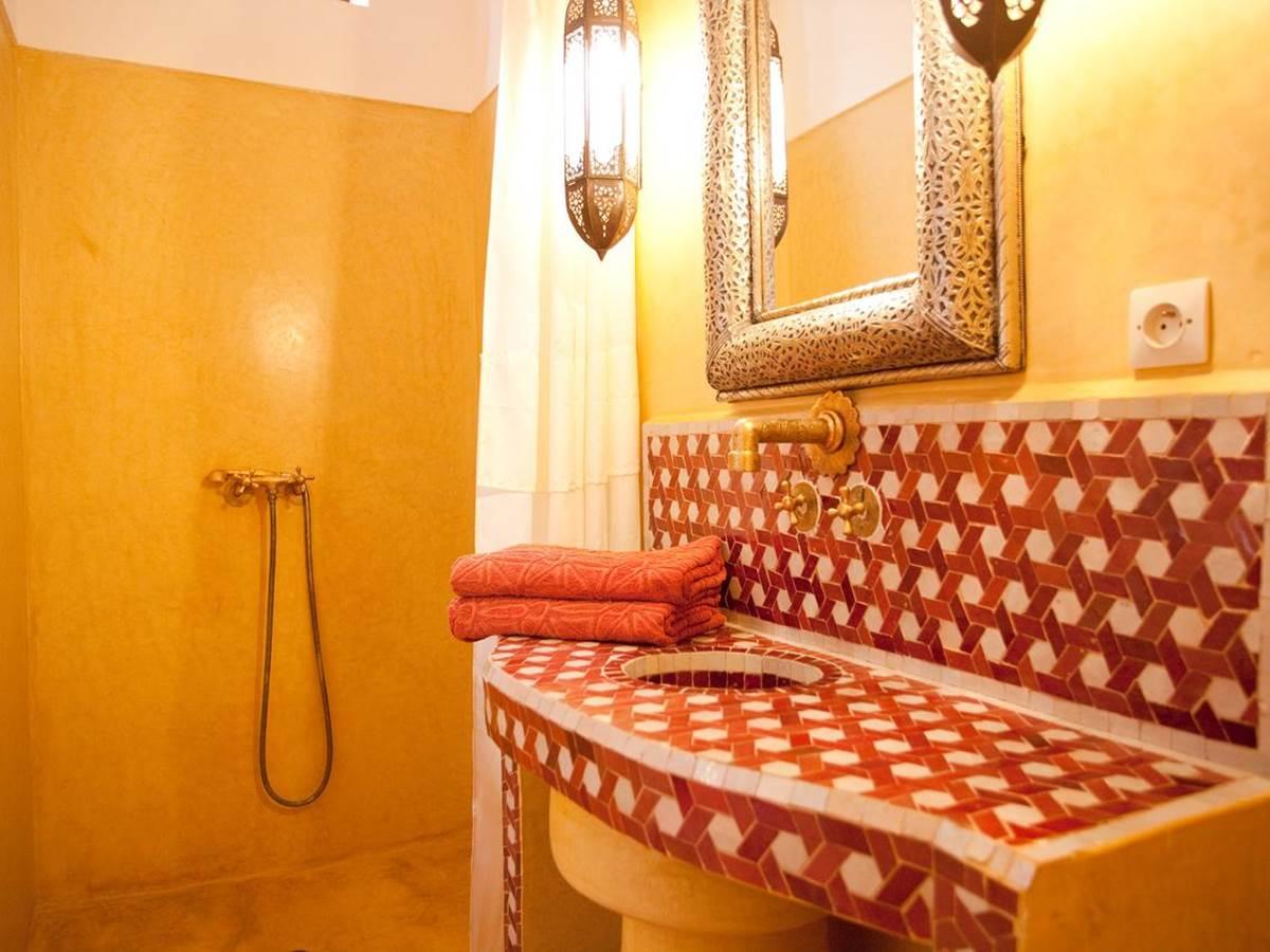riad-zineb_salle de bain chambre