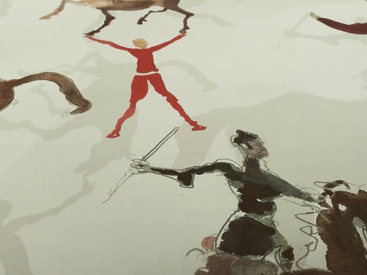 Le papier peint main de Pierre Frey
