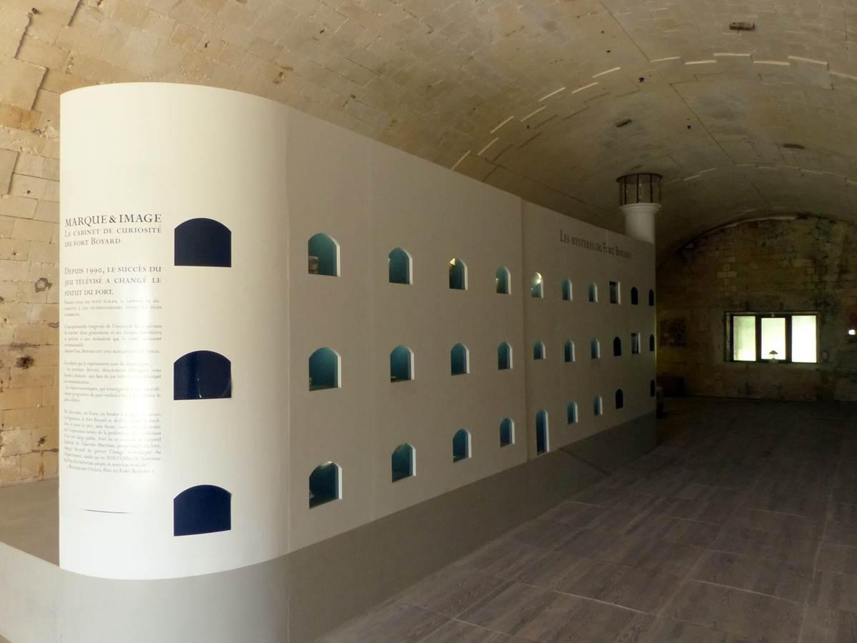 Exposition Fort Boyard au Fort Liédot