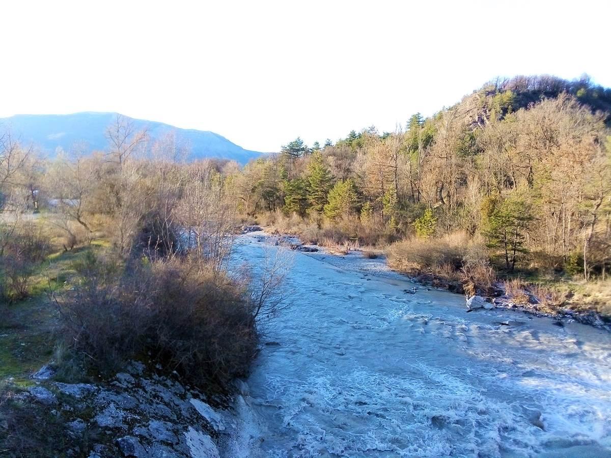 Rivière drôme à 800m