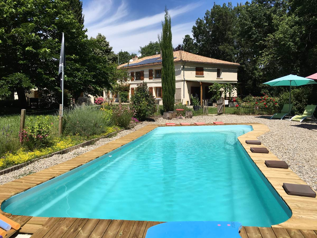 piscine chambre hote montauban forestiere monclar toulouse