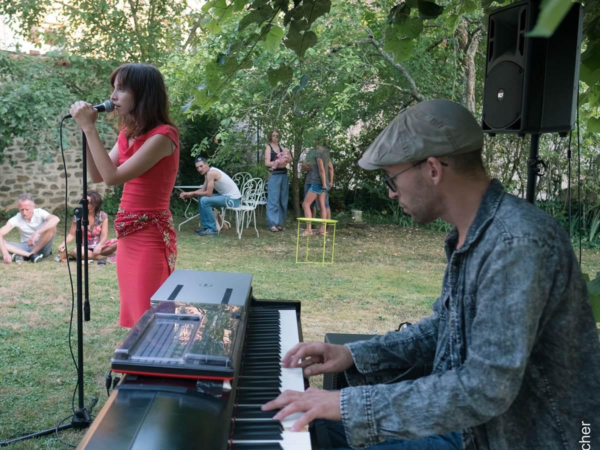 Le Jardin des Lys - Vernissage et concert au jardin