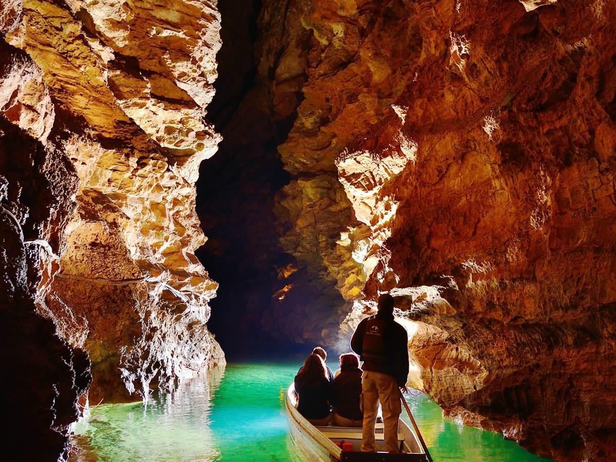 Navigation souterraine Padirac