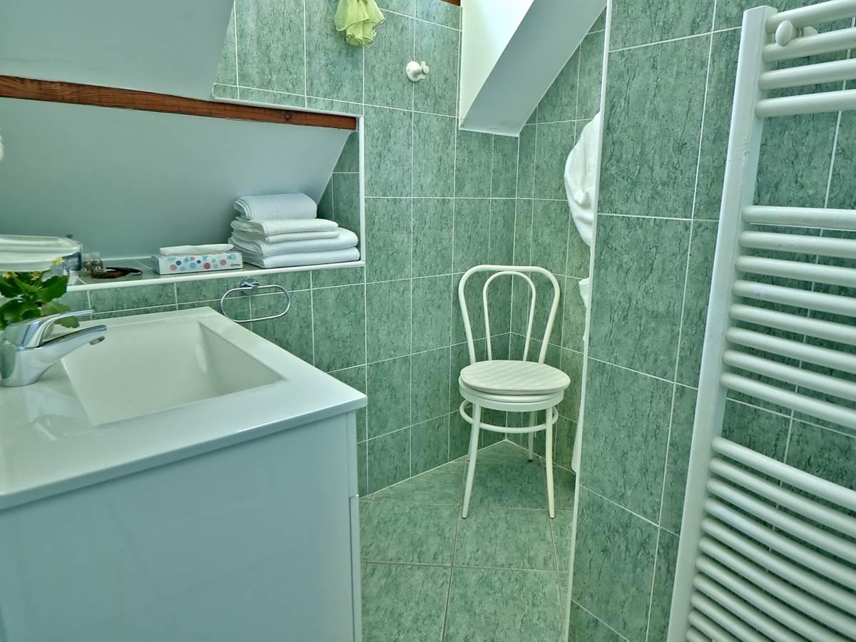 Salle de douche  Chambre double Confort Le Pas de L' Âne Saint Ondras