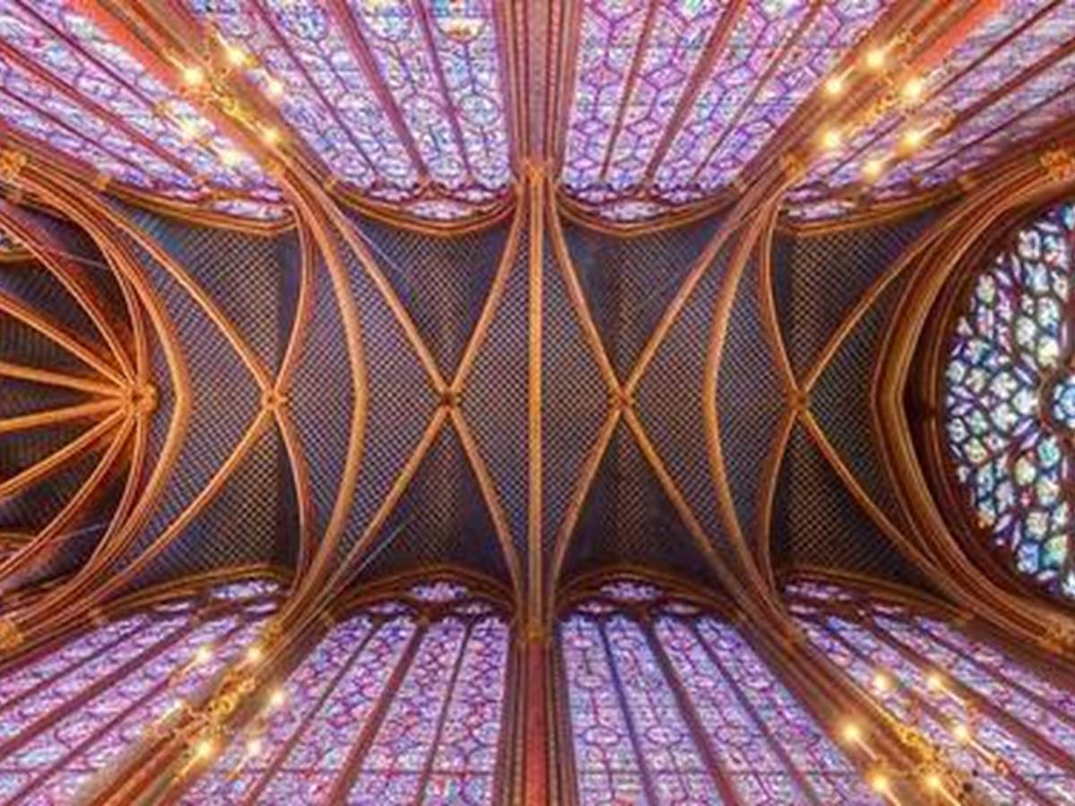 Sainte-Chapelle Roof