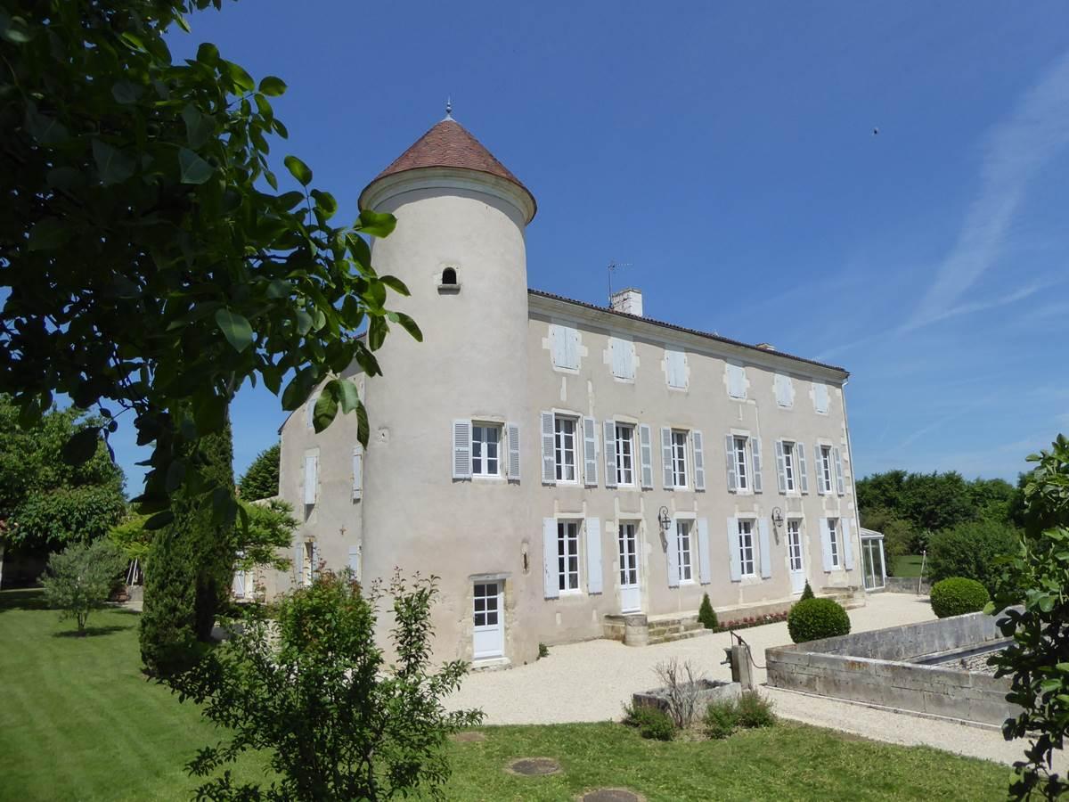 Château d'Annezay - Terrasse des viviers