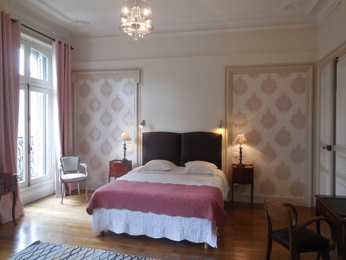 Chambres d'hôtes Le Jardin des Lys  chambre Lys Royal