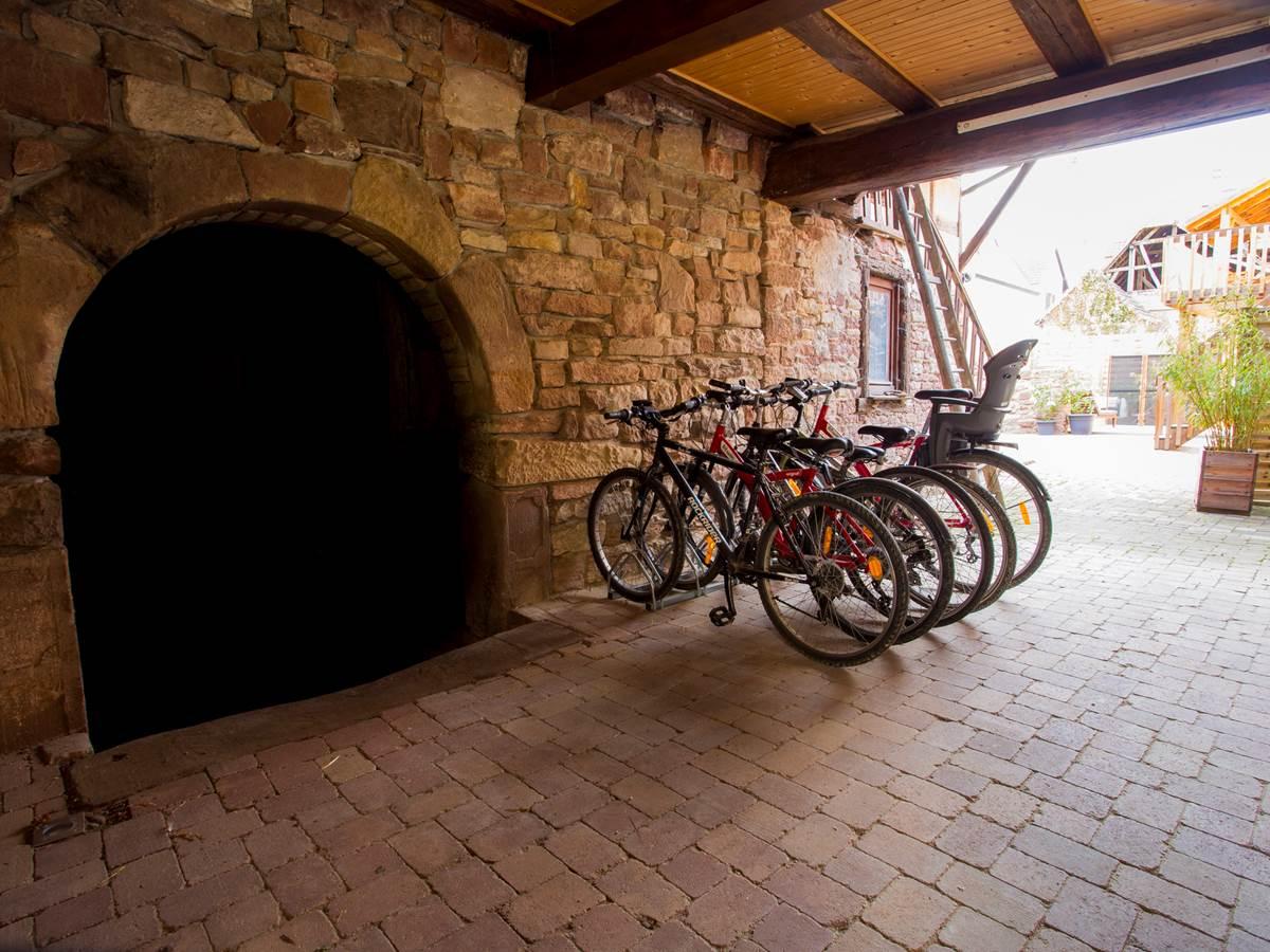 Les vélos à disposition