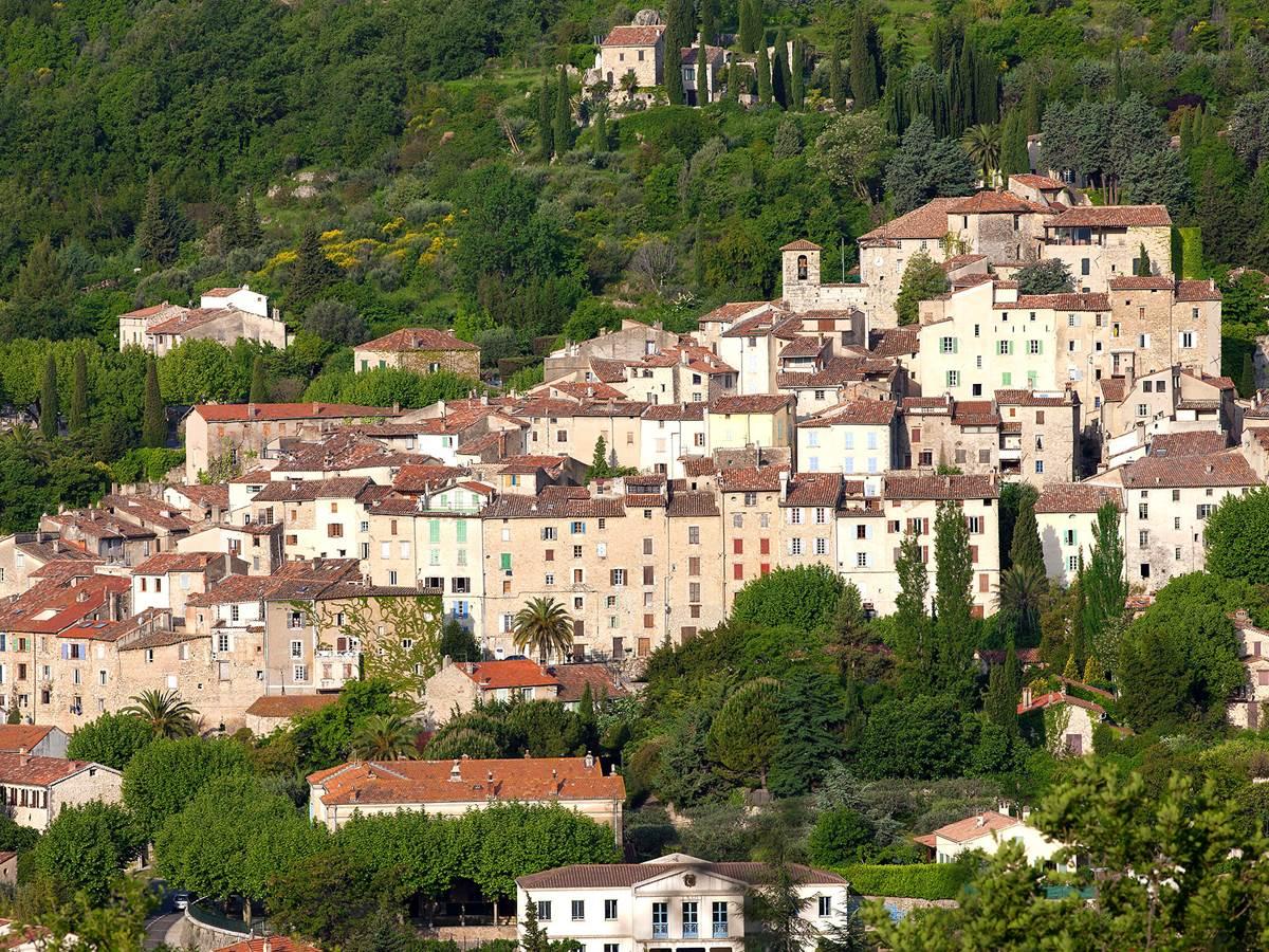 Seillans, l'un des plus beaux villages de France dans le Haut-Var