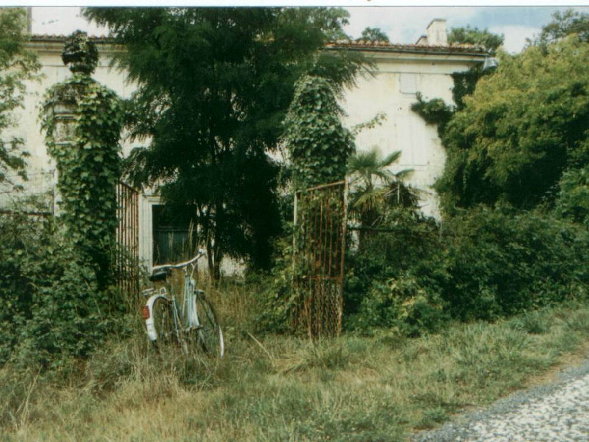 Maison principal - avant renovation