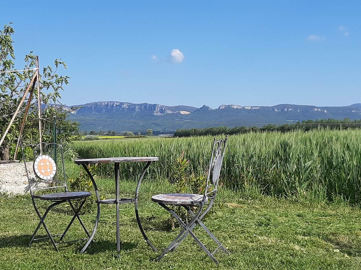 Vue sur les Barronies Provençales