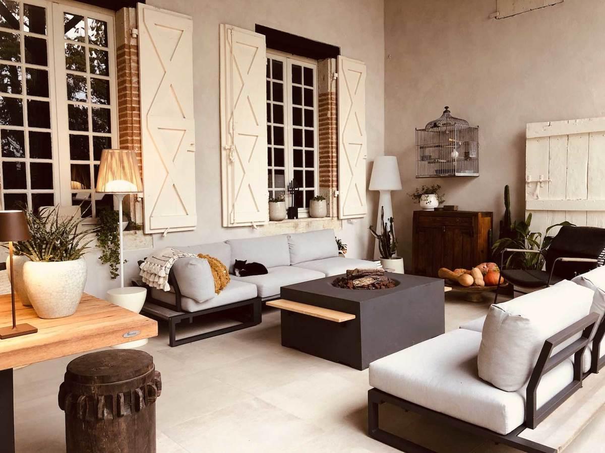 Terrasse couverte chambre-d-hote-lesmatinsrubis-tarn-et-garonne-occitanie-location-toulouse