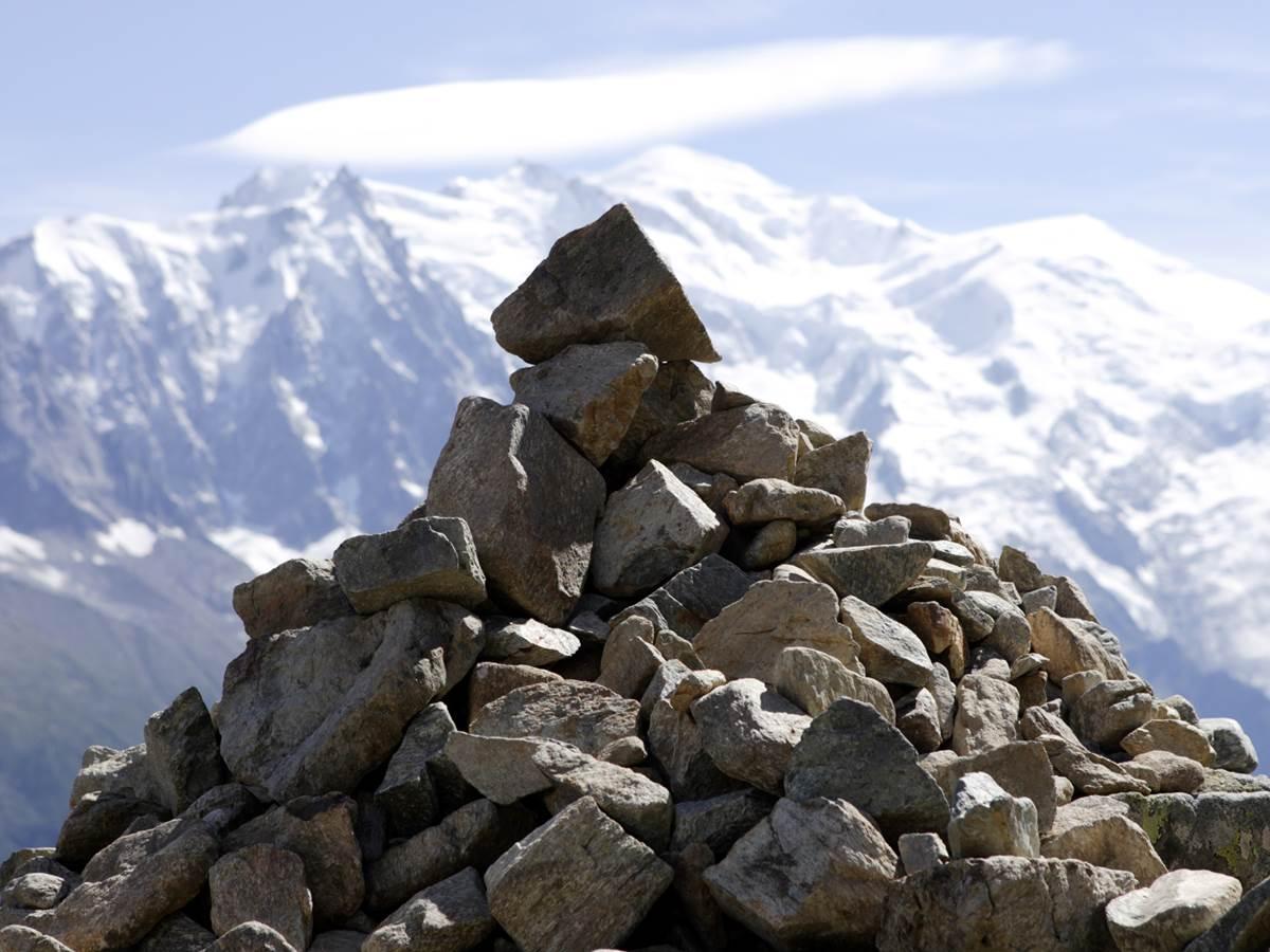 Kern et le mont Blanc