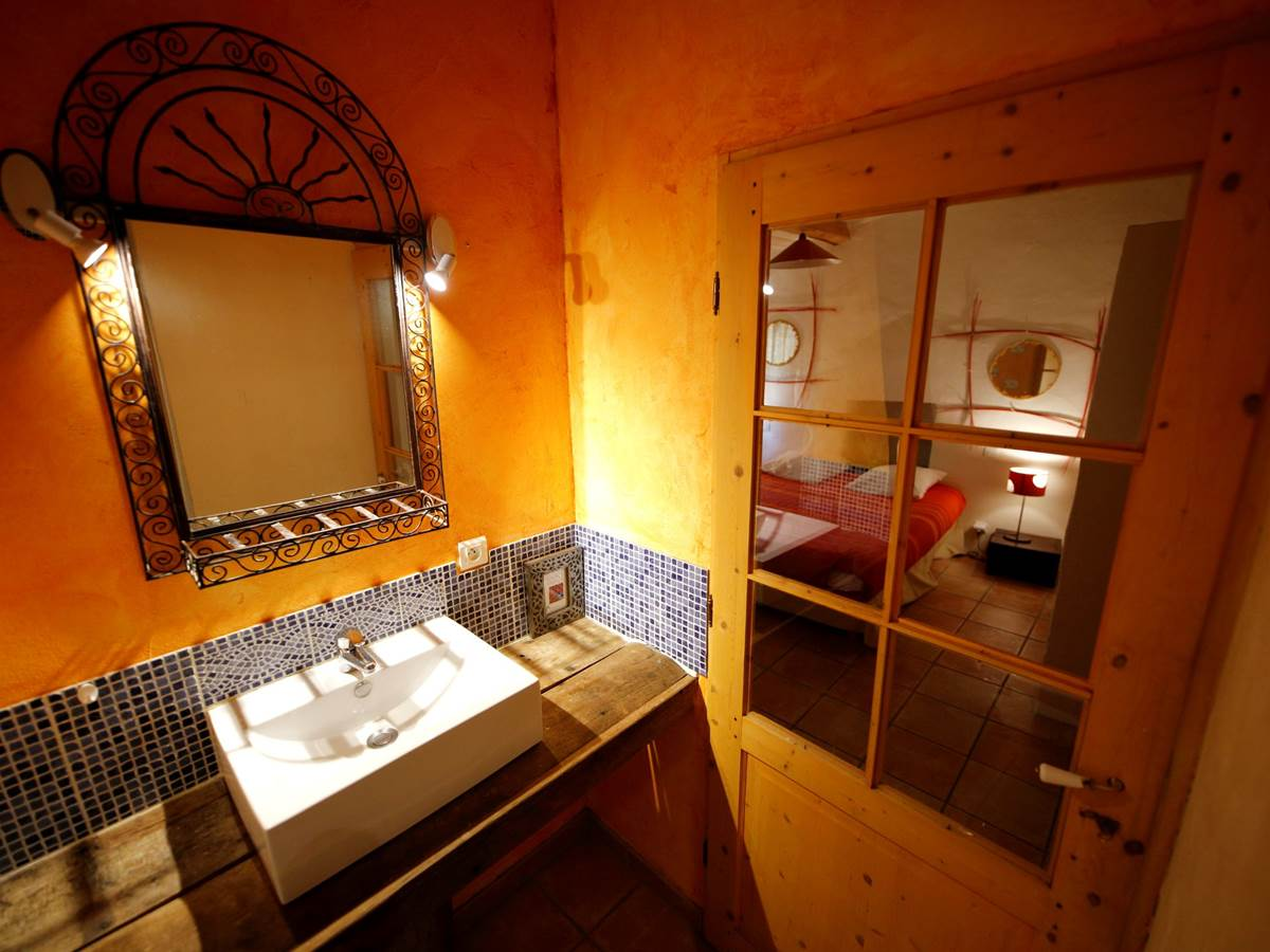 La Seranne, salle de bain chambre 1
