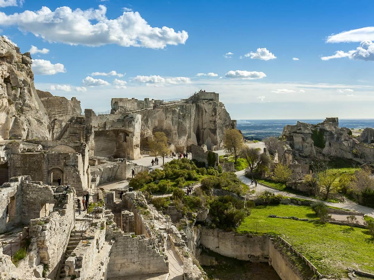 Les Baux-de-Provence et les Alpilles
