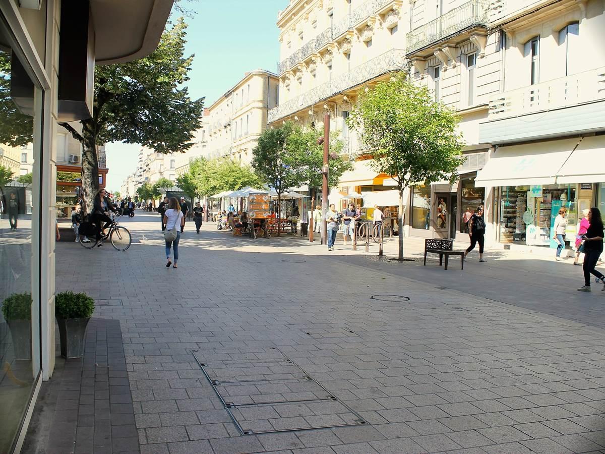 Rue piétonne Agen
