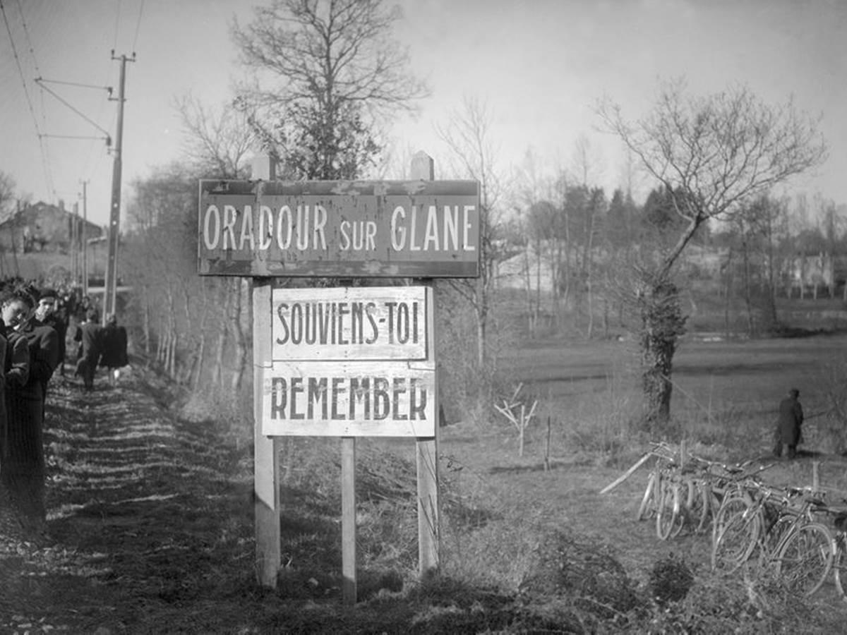Le village martyre d'Oradour sur Glane  20 Km. www.oradour.org