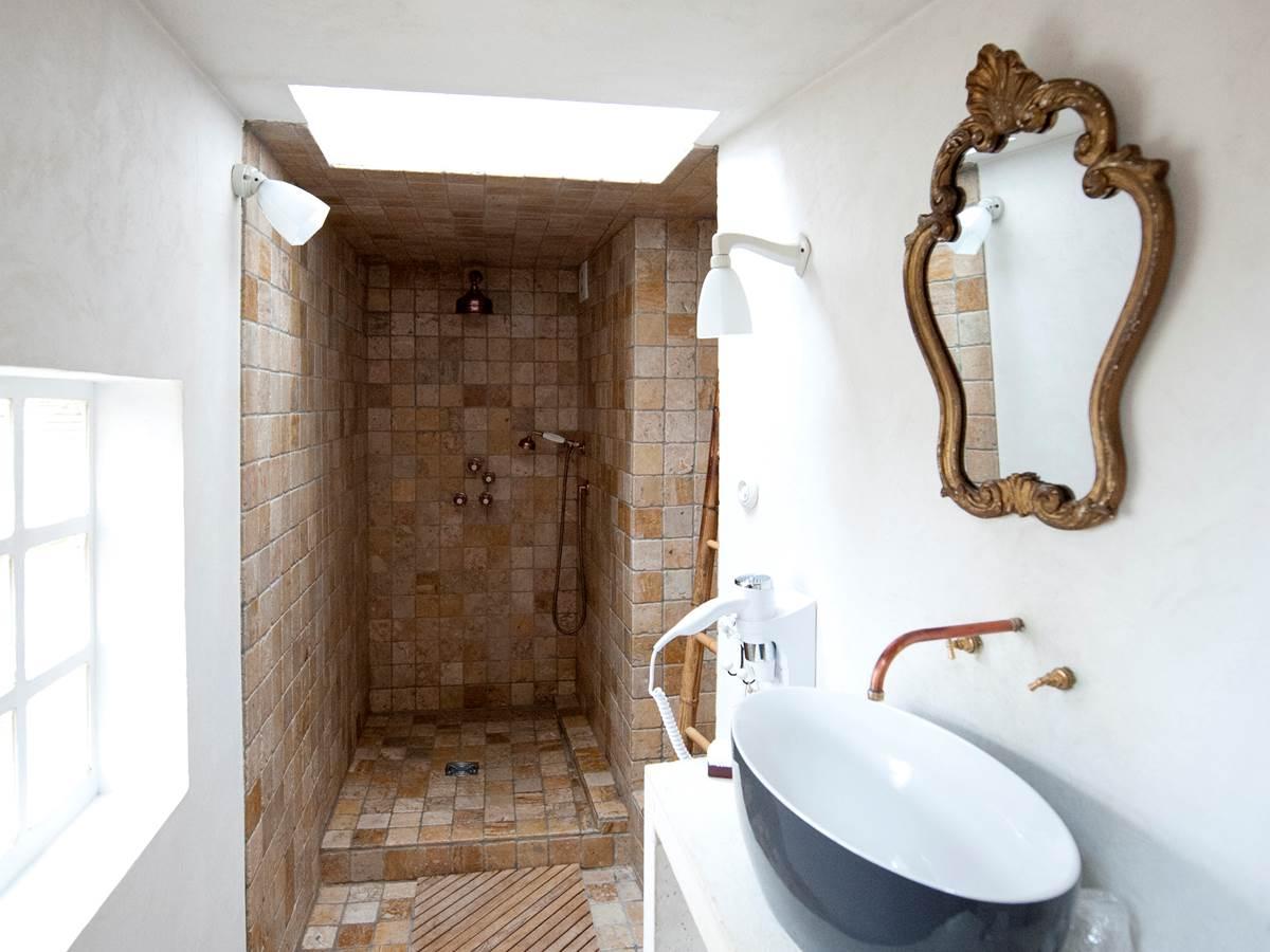 l'originalité de la salle de bain