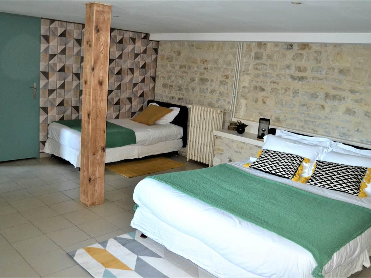 Chambre d'hôte NATURE (40 M2) à la Rochelle Lodge
