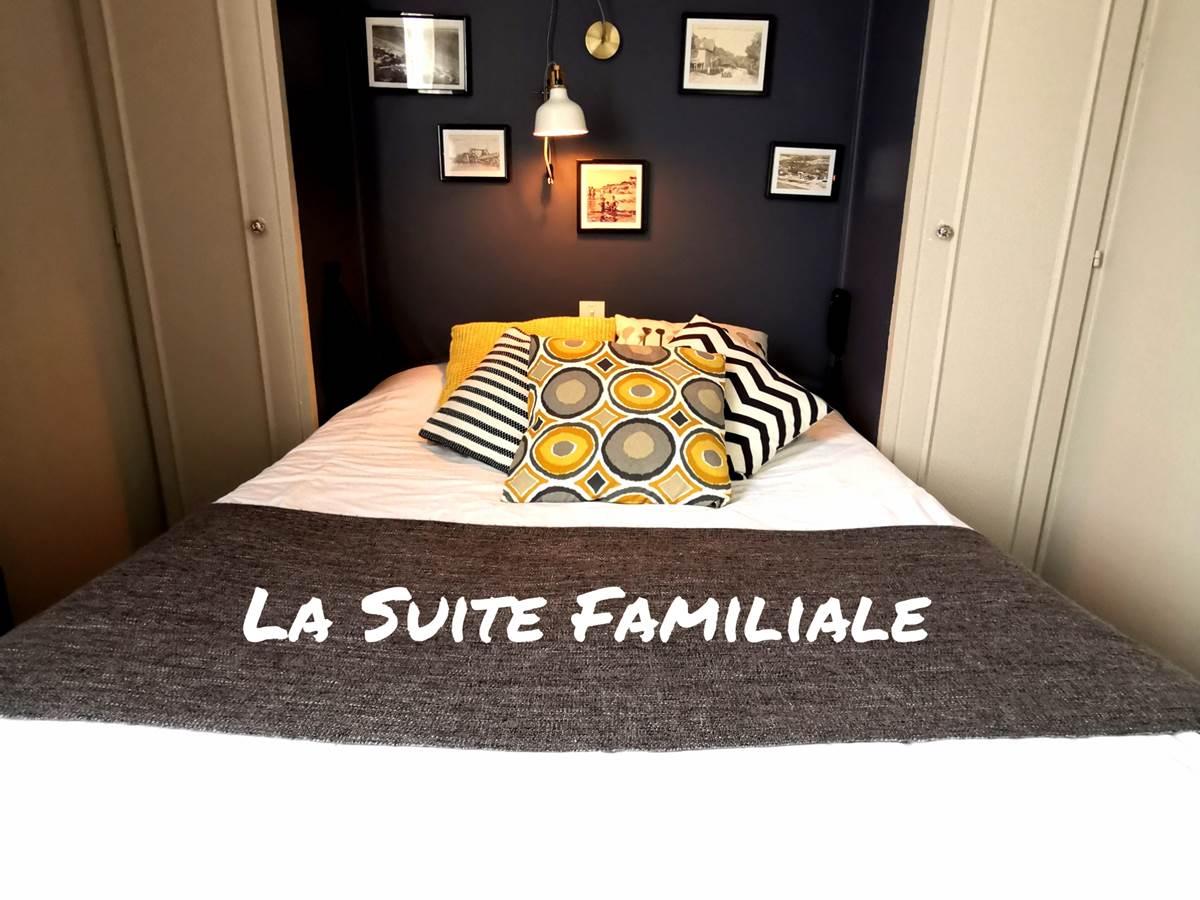 La Suite Famialie avec lit double