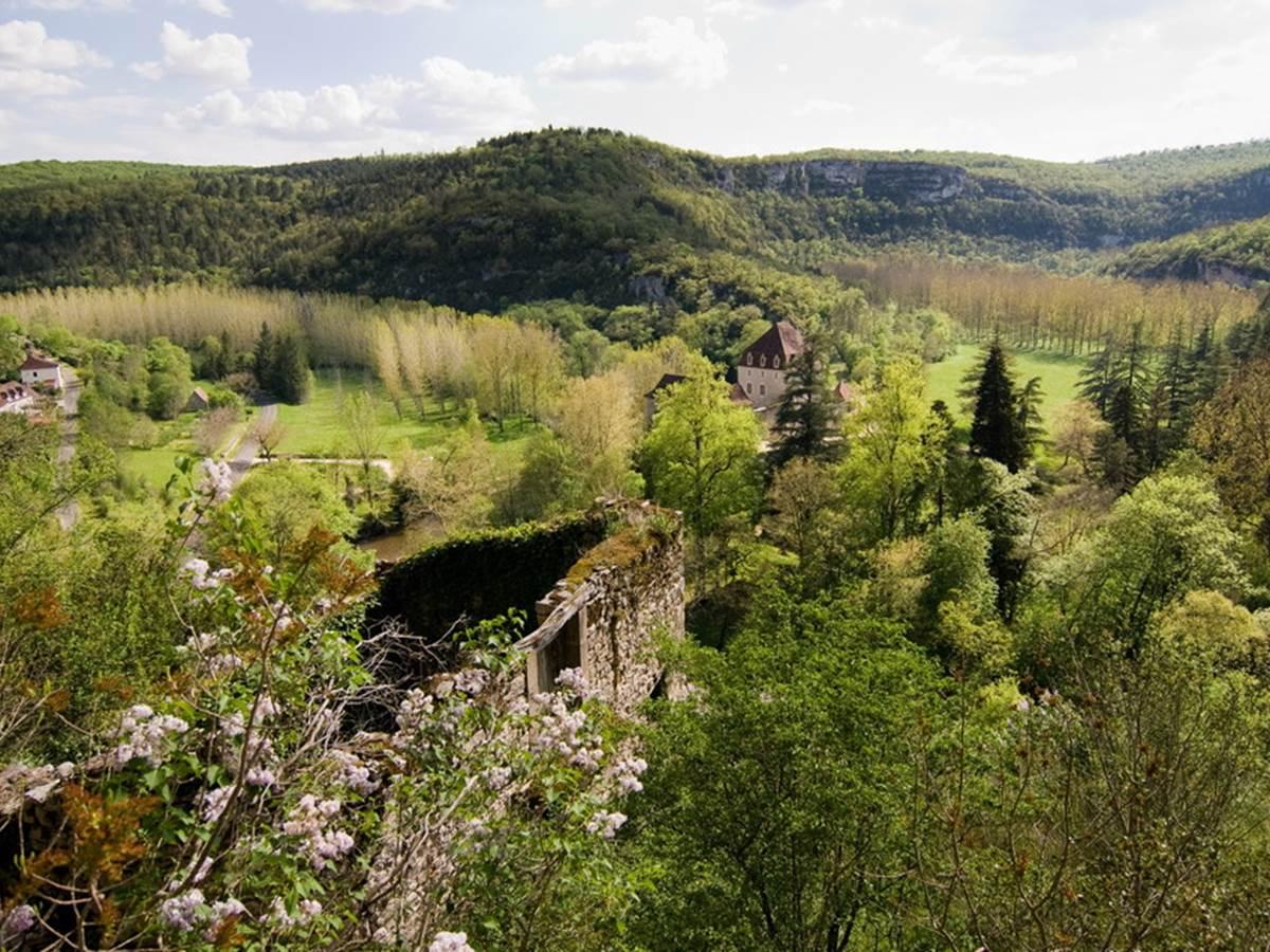 Château de Géniez à Sauliac sur Célé