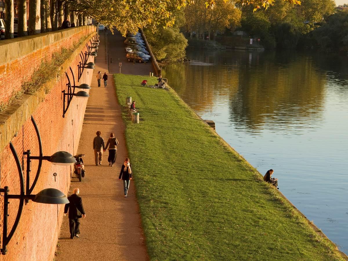 140356398 Les bords de la Garonne à toulouse