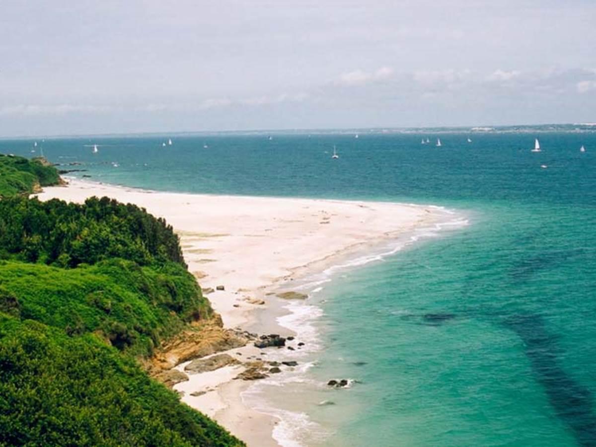 Plage des grands sables à Groix