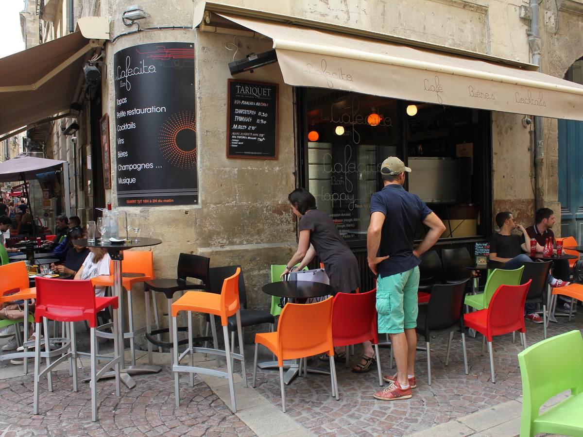Le cafecito bar au coeur du Vieux Bordeaux