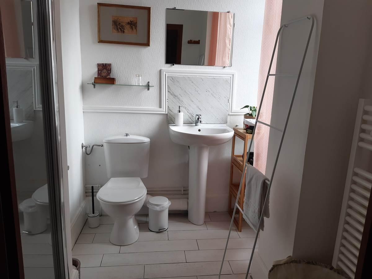 chambre hirondelles salle de bain