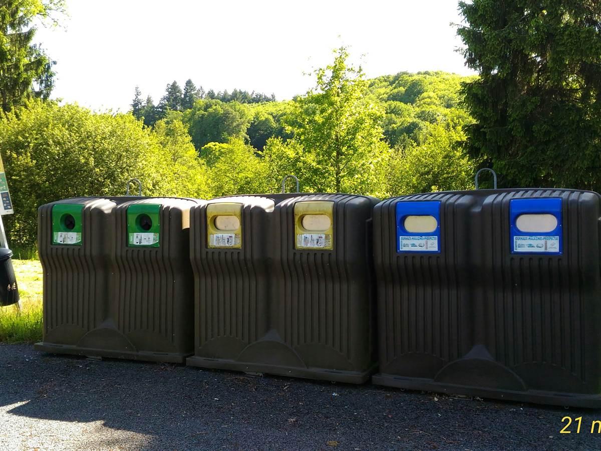 le trie des déchets nous tient au cœur