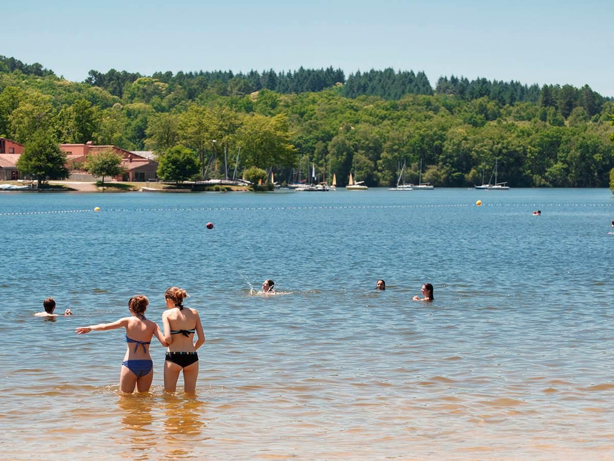 lac-de-saint-pardoux-baignade @hauteviennetourisme
