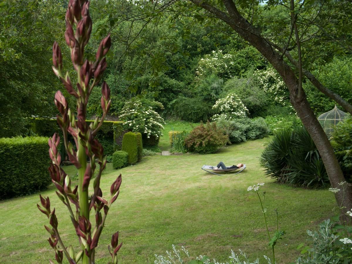 vue 4 jardin