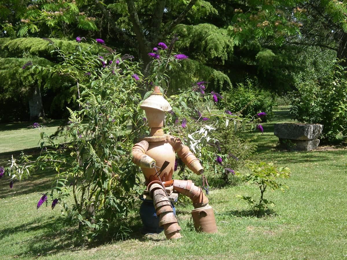 autre coin paisible du jardin