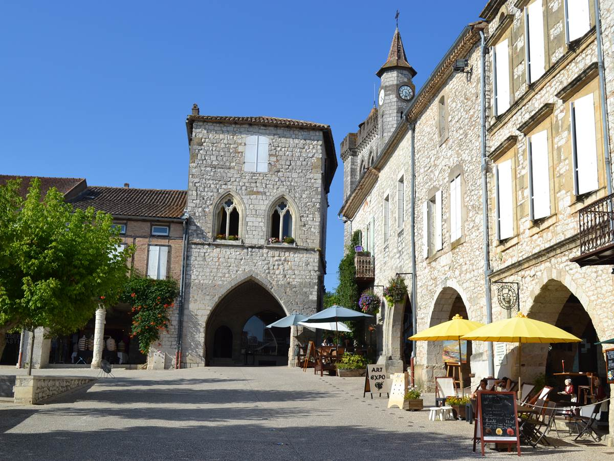 Monflanquin: classé plus beau village de France