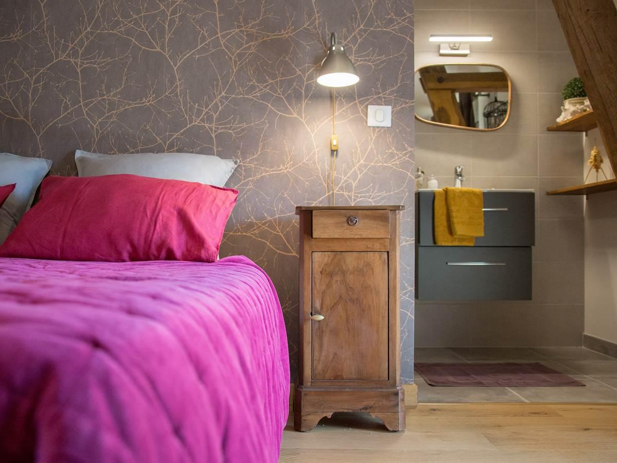 chambre d'hôtes en vallée de la Dordogne avec rénovation écologique