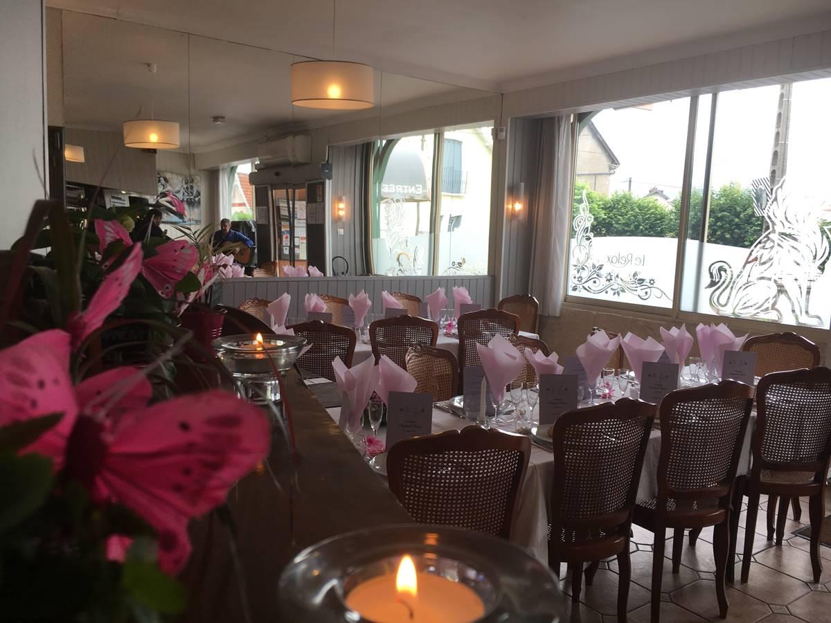Notre salle de restaurant pour vos repas de famille, à Boulazac, Périgueux