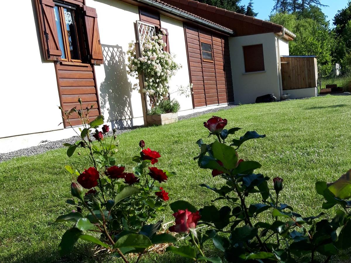 extérieur façade côté jardin