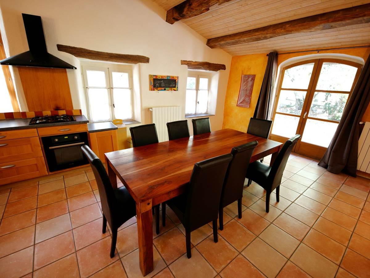 La Seranne, salle à manger