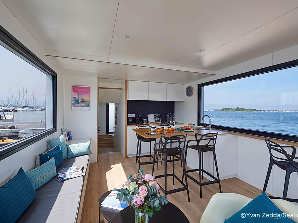 cabine 3 personnes - Lodge boat Lorient