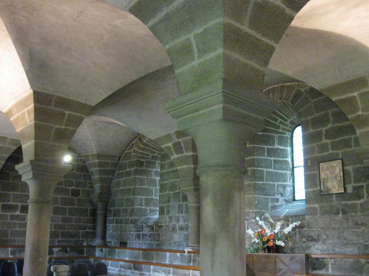 Aubazine abbaye salle capitulaire