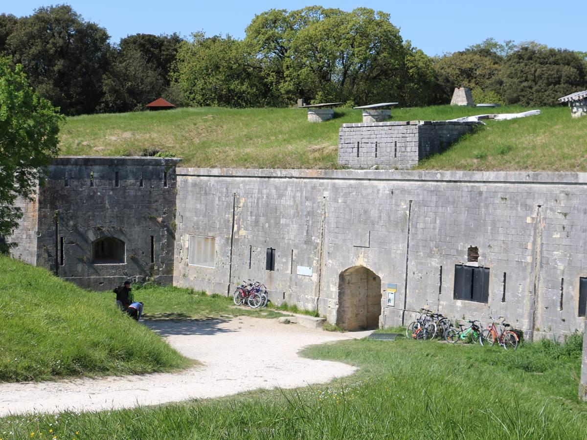 Entrée du Fort Boyard