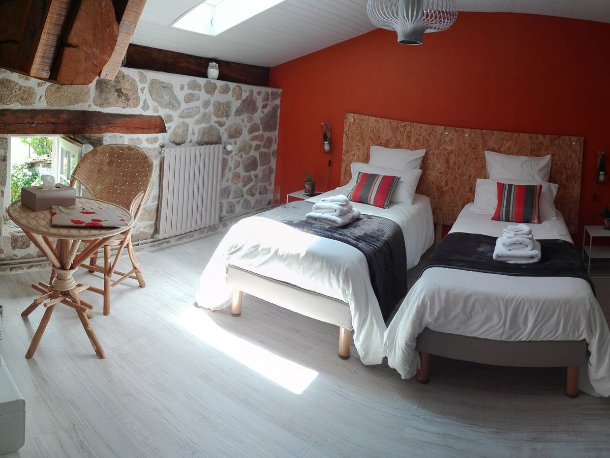 la Vieille Maison de Pensol - Chambre Feuillardier