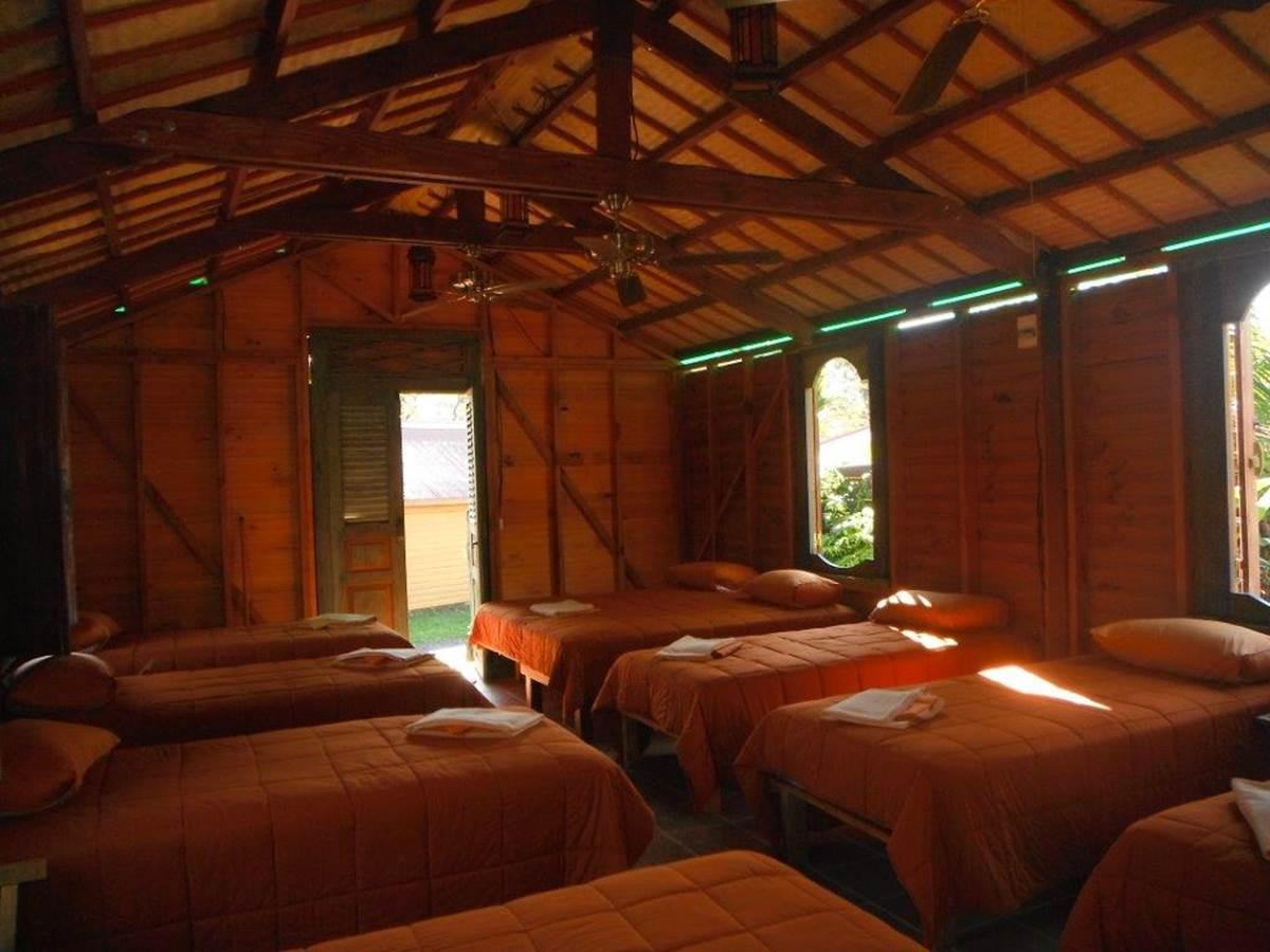 Bungalow dortoir intérieur
