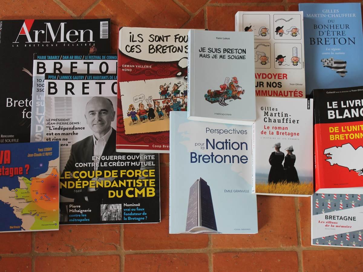 Des ouvrages modernes aux entipodes du folklore pour connaitre la Bretagne et son destin.