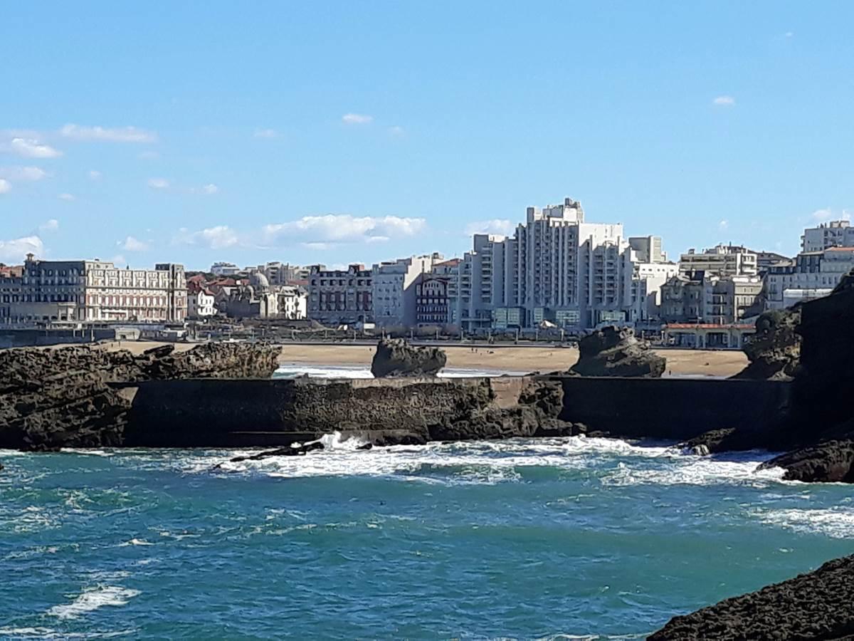 Biarritz - La Grande Plage - Le Phare - L'Hôtel du Palais