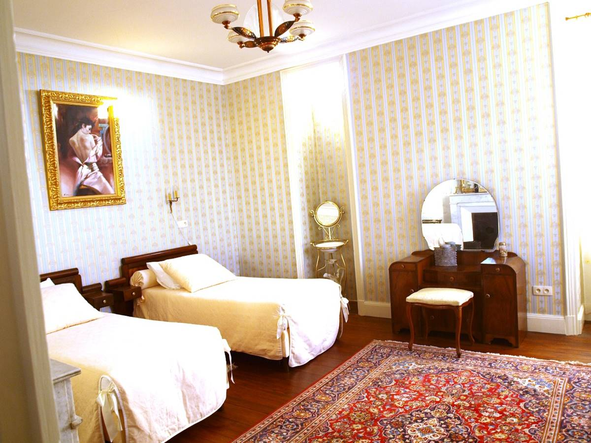 Suite Magnolia Vue Chambre